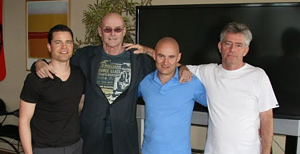 Ken with Adam, Don and John from IIA